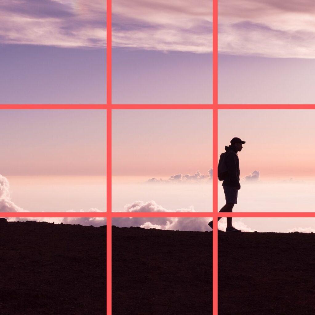 regola dei terzi fotografia