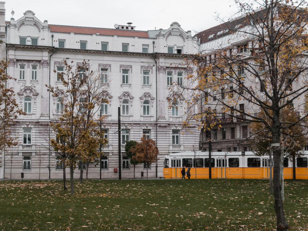 budapest città novembre monumenti vita strade