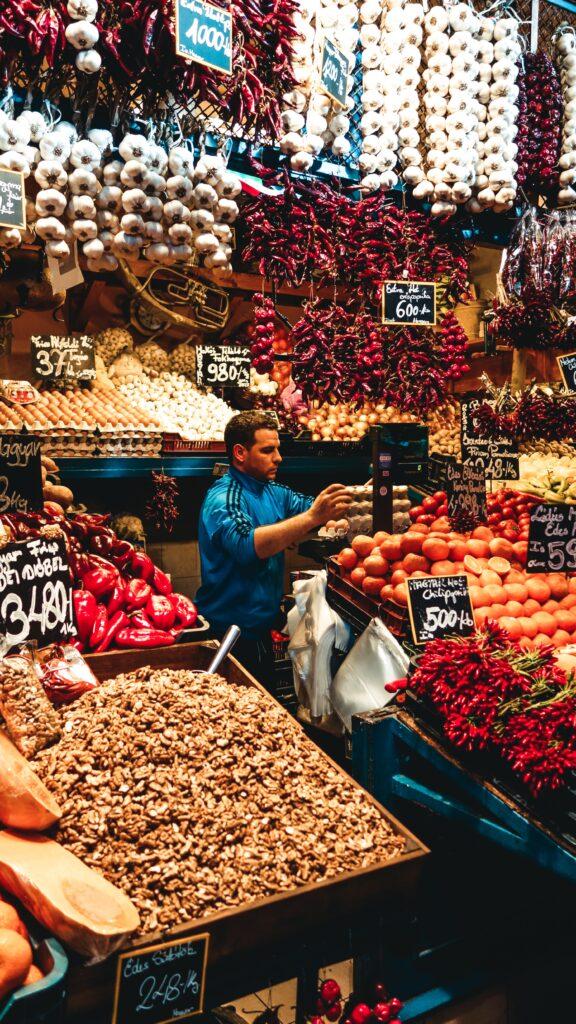 budapest mercato cosa mangiare