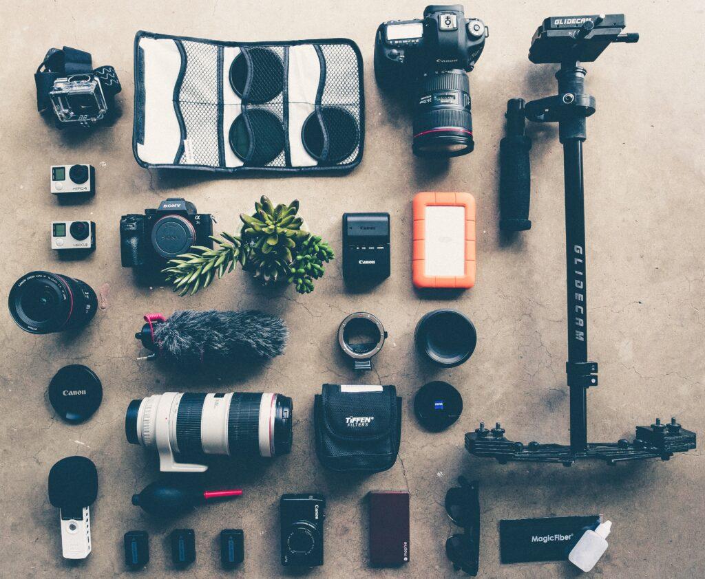 l'occhio del fotografo atrezzatura usata