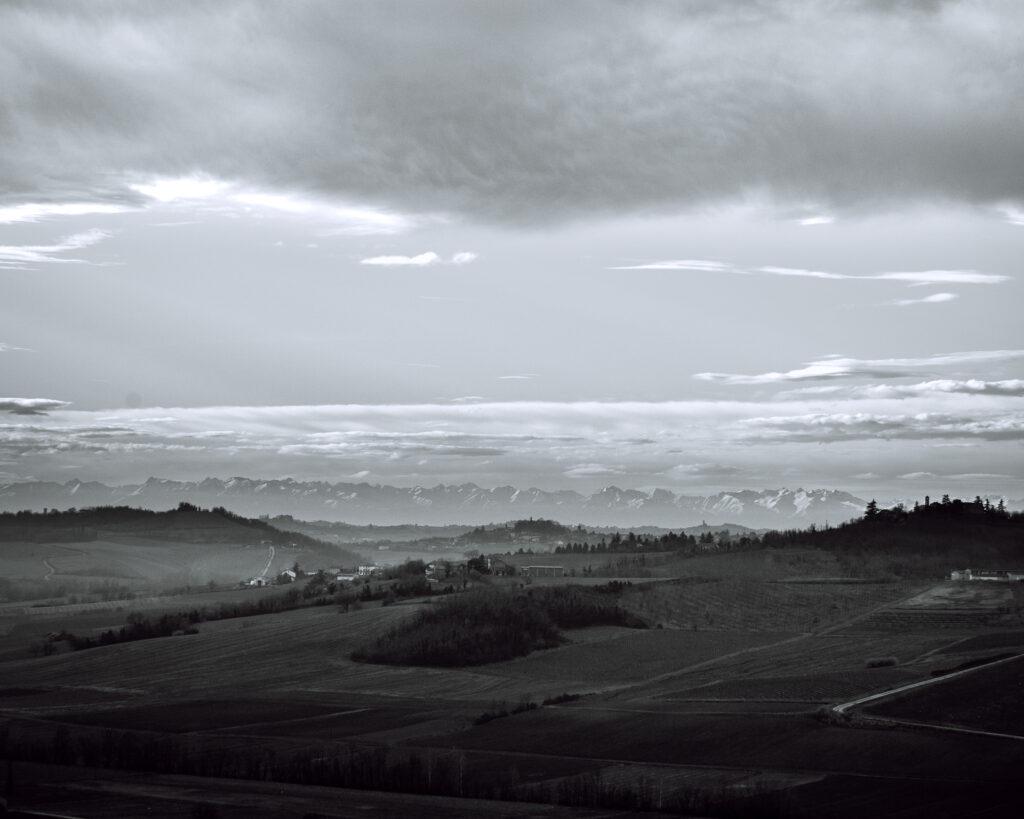 landscapes photography: a portfolio selection - monferrato italy