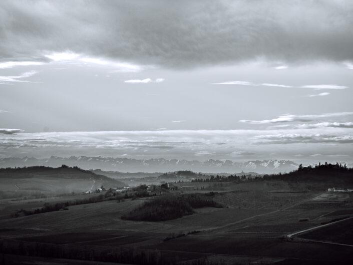 Monferrato: fotografia d'inverno