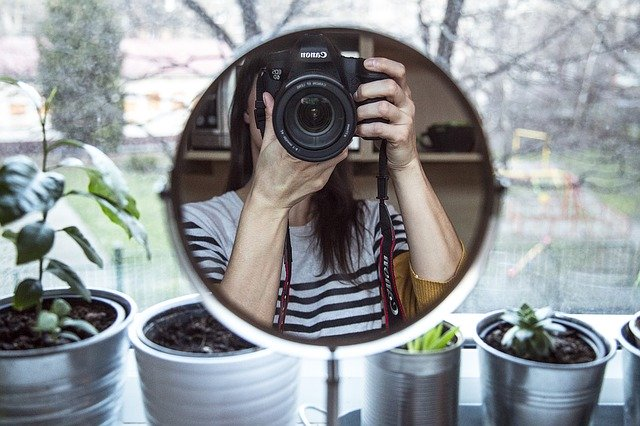 foto ritratto self portrait come fare
