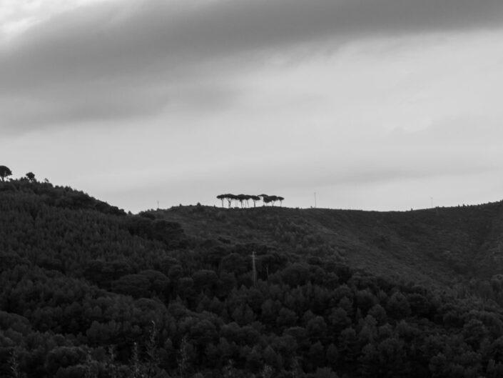 colla micheri fotografia paesaggio bianco e nero