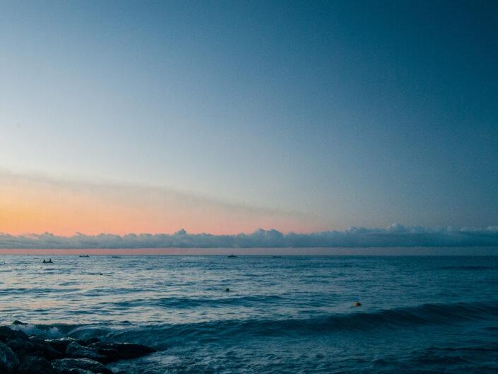 laigueglia foto mare cielo alba