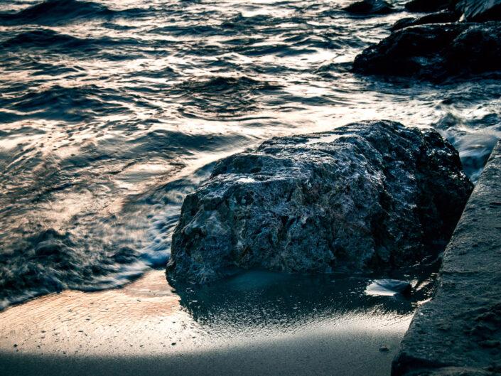 laigueglia mare foto sabbia