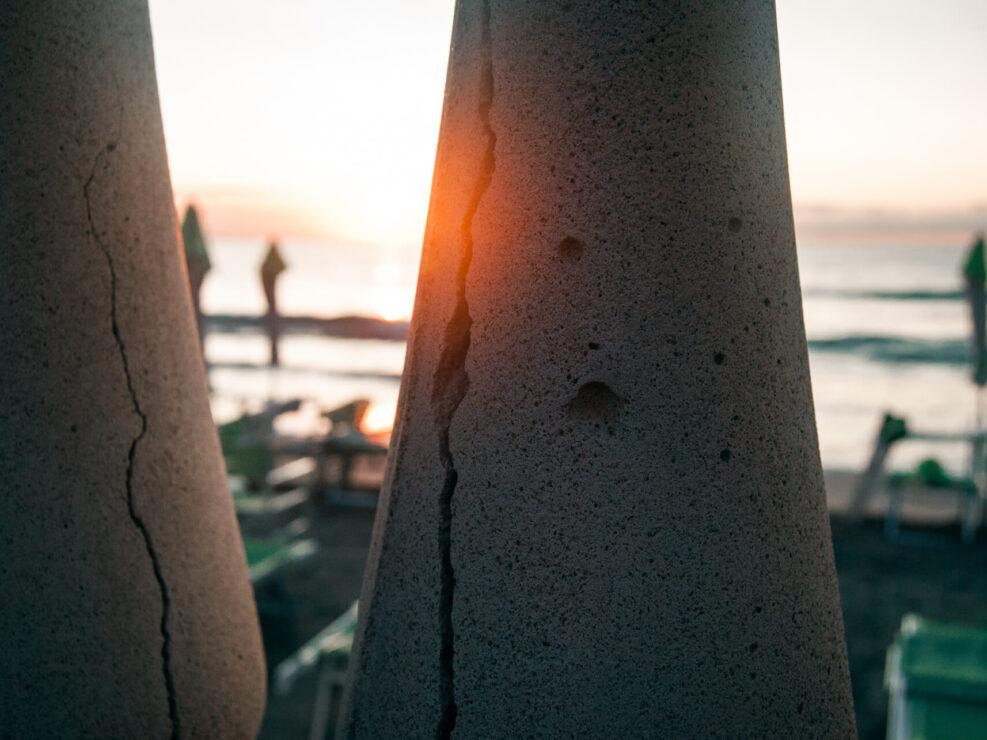 laigueglia fotografia alba riflesso
