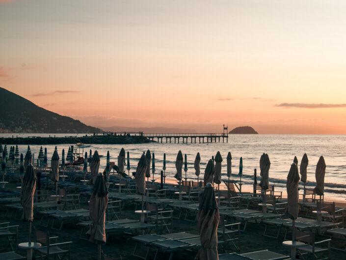 spiaggia fotografia alba