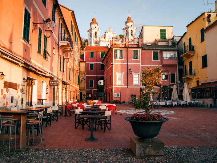 fotografia laigueglia piazza