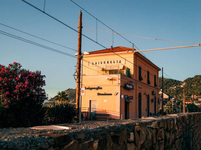 laigueglia stazione fotografia