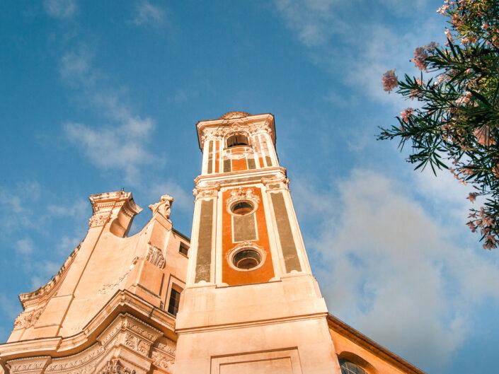 laigueglia campanile chiesa foto