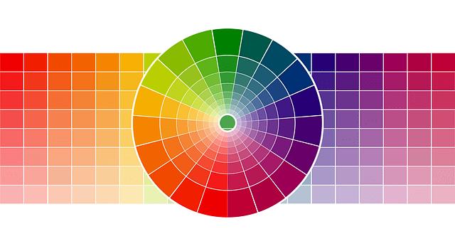 toni freddi vs caldi - tabella cromatica dei colori