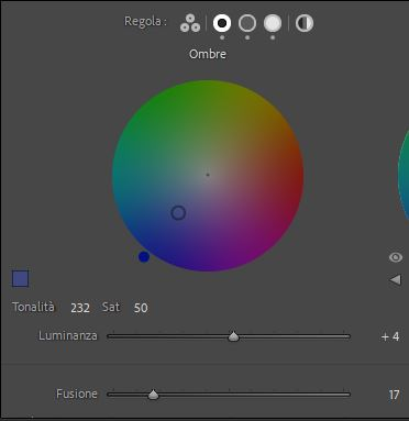 editing foto color grading ombre