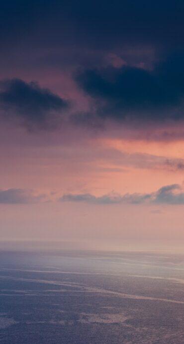 alba mare colori pastello