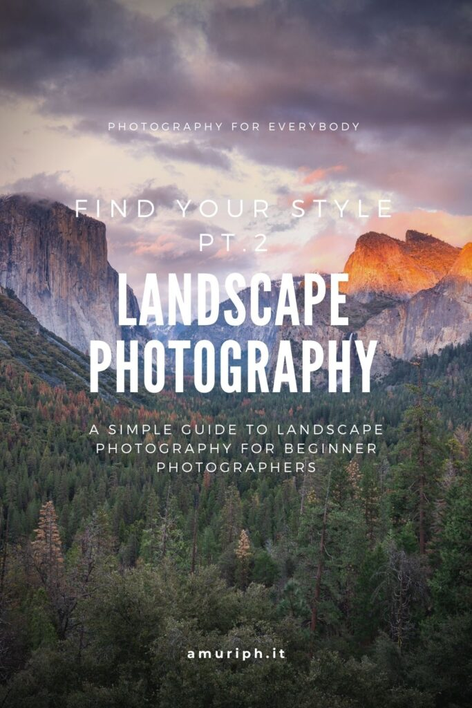 landscape photography beginner guide