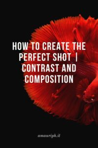 how to create the perfect shot with contrast and composition