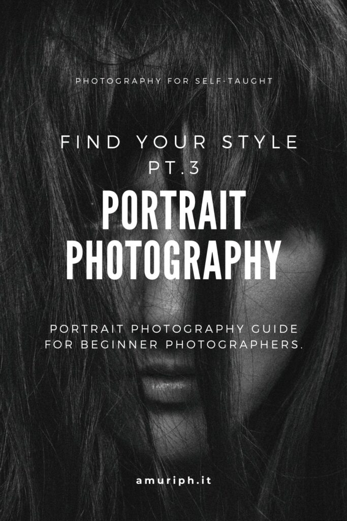 portrait photography introduction